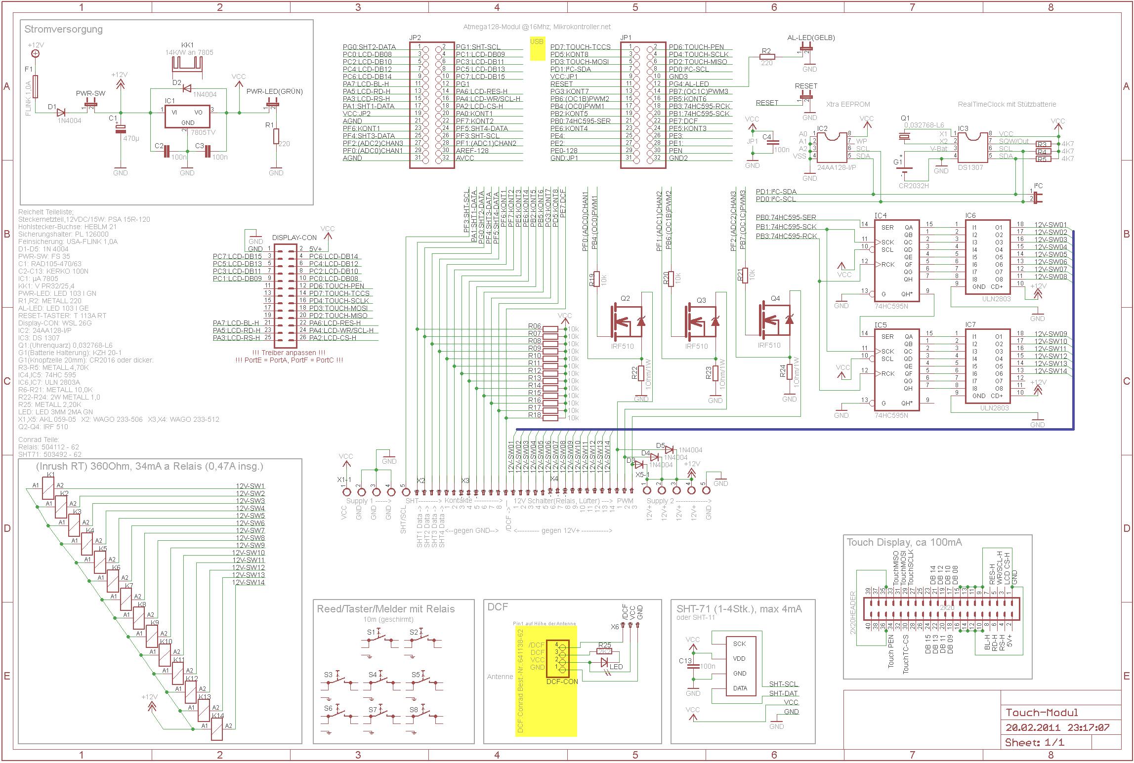 Schaltplan Check - Mikrocontroller.net
