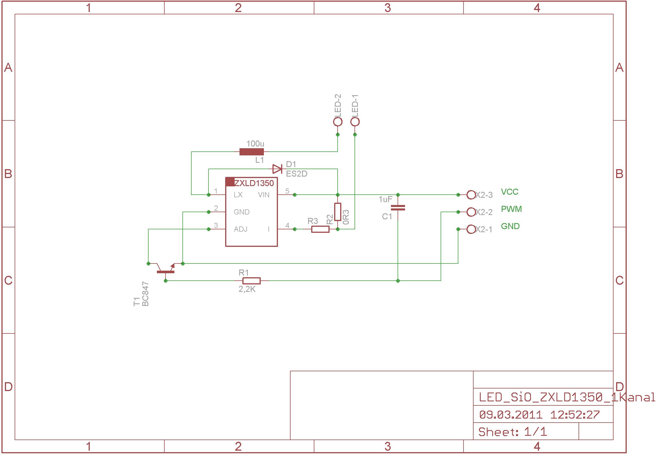Berühmt Led Treiber Schaltplan Bilder - Der Schaltplan - triangre.info