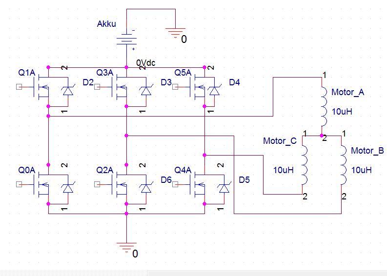 Dimensionierung MOSFET induktive Last (BLDC Motorsteuerung ...