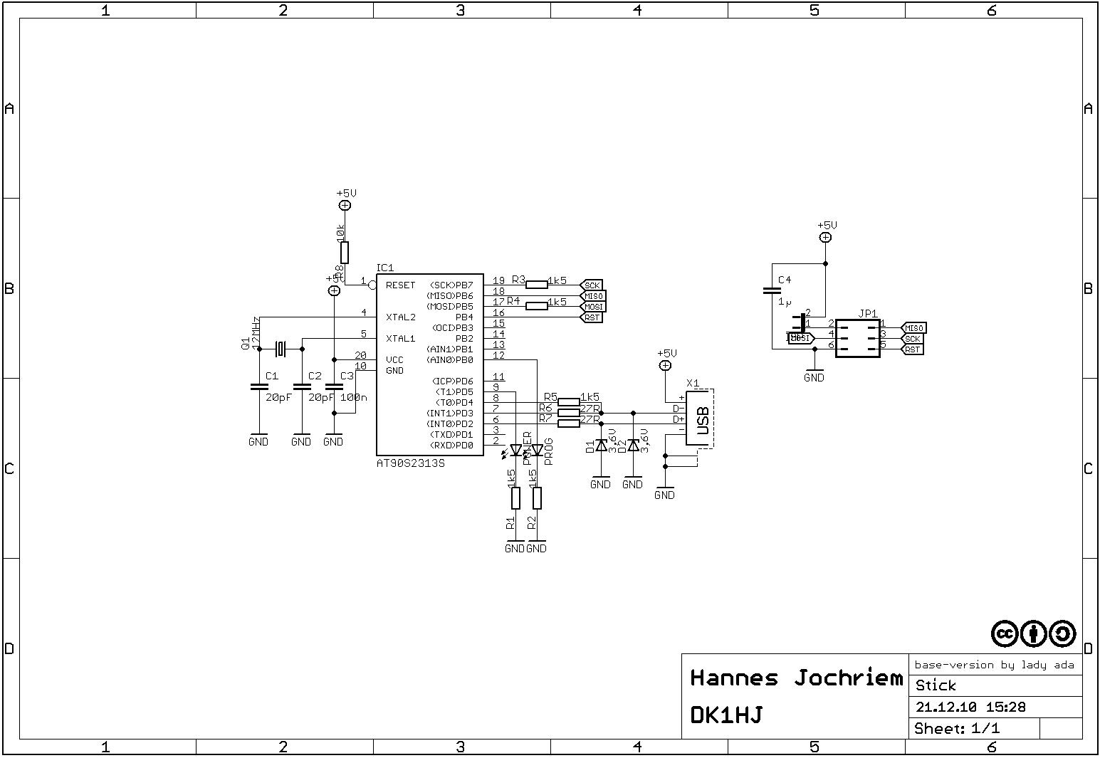 Bausatz AVR-ISP-Stick - Mikrocontroller.net