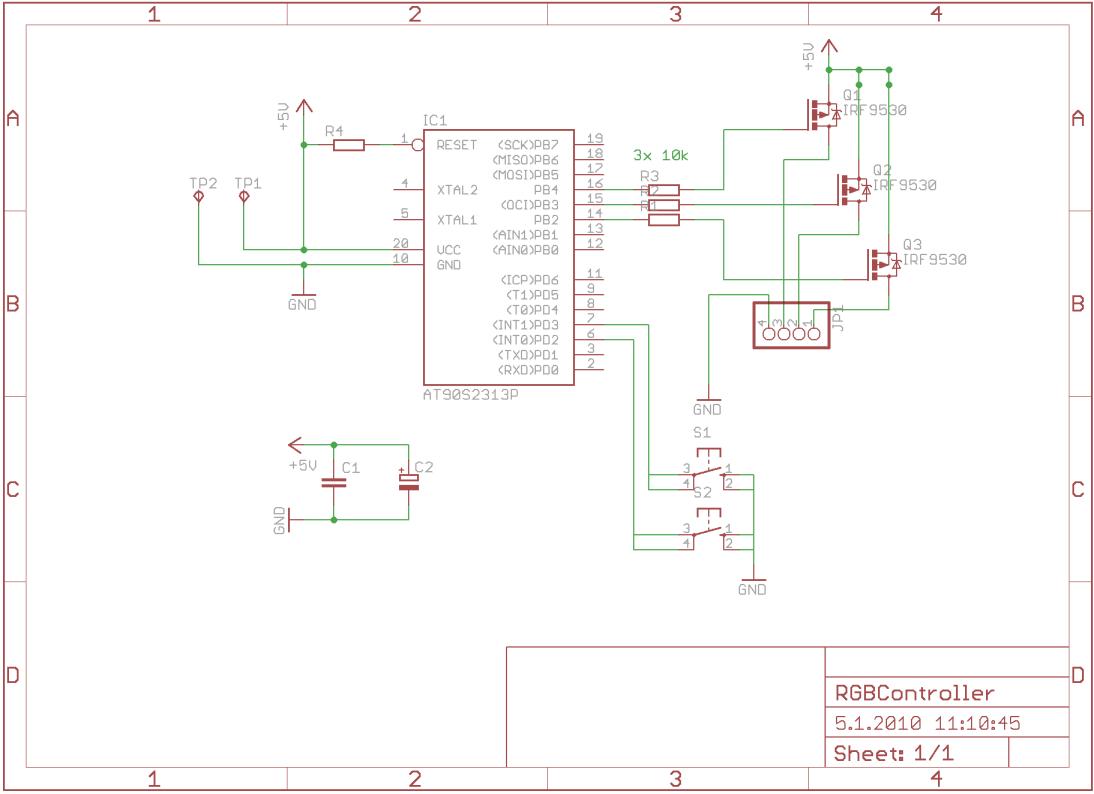 RGB led Schaltung - Mikrocontroller.net