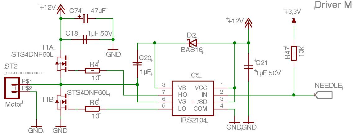 Ir2104 Fet Killer Mikrocontroller Net
