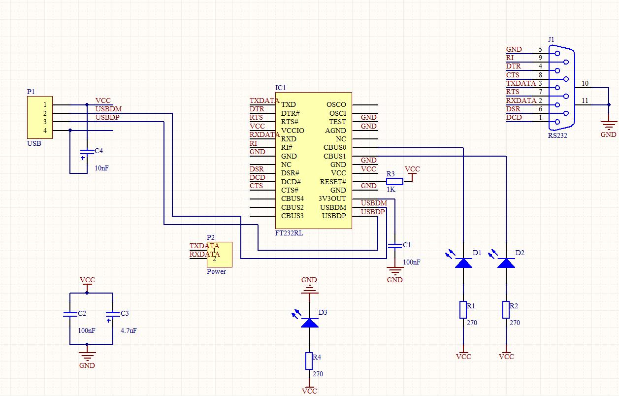 Schaltplan und Layout für FT232RL ok? - Mikrocontroller.net