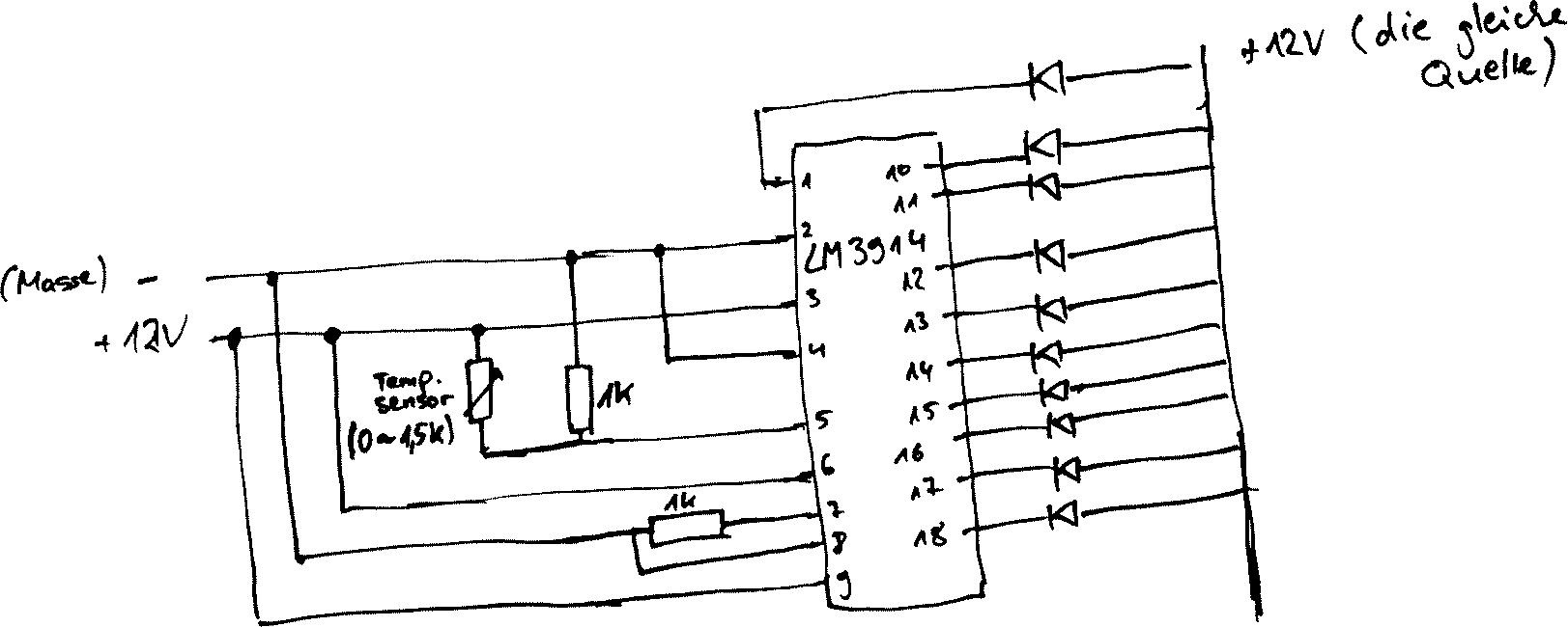 Schaltplan Öltemperaturanzeige - Mikrocontroller.net