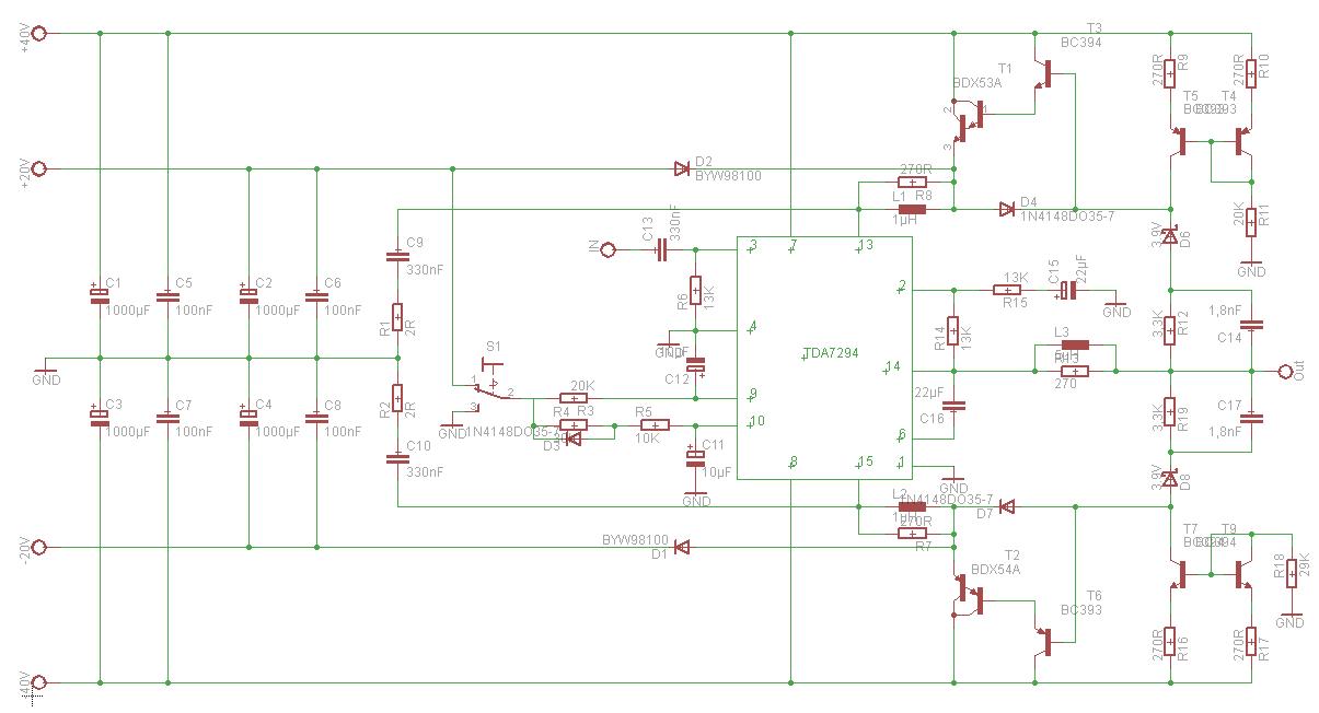 100W-Verstärker - Mikrocontroller.net