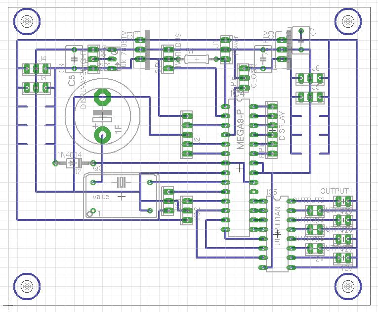 Erste Schaltung: Terrariensteuerung/DCF77/Dimmer/Schalter ...