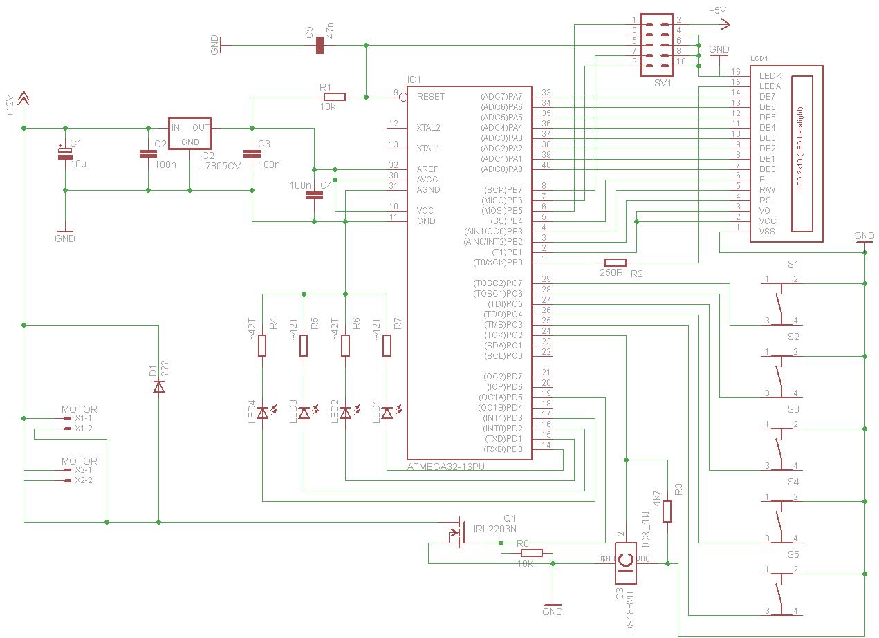 Schaltung zur Kühlung eines Aquariums - Mikrocontroller.net