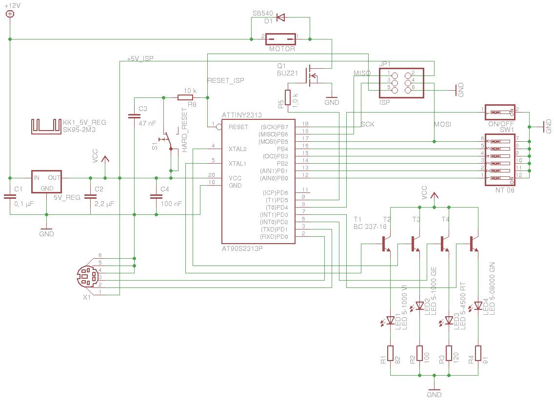 12 V DC über MOSFET an ATTiny - Mikrocontroller.net