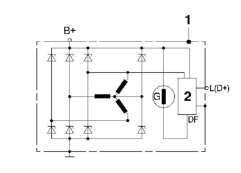Wieso 8 Gleichrichterdioden in Lichtmaschine - Mikrocontroller.net