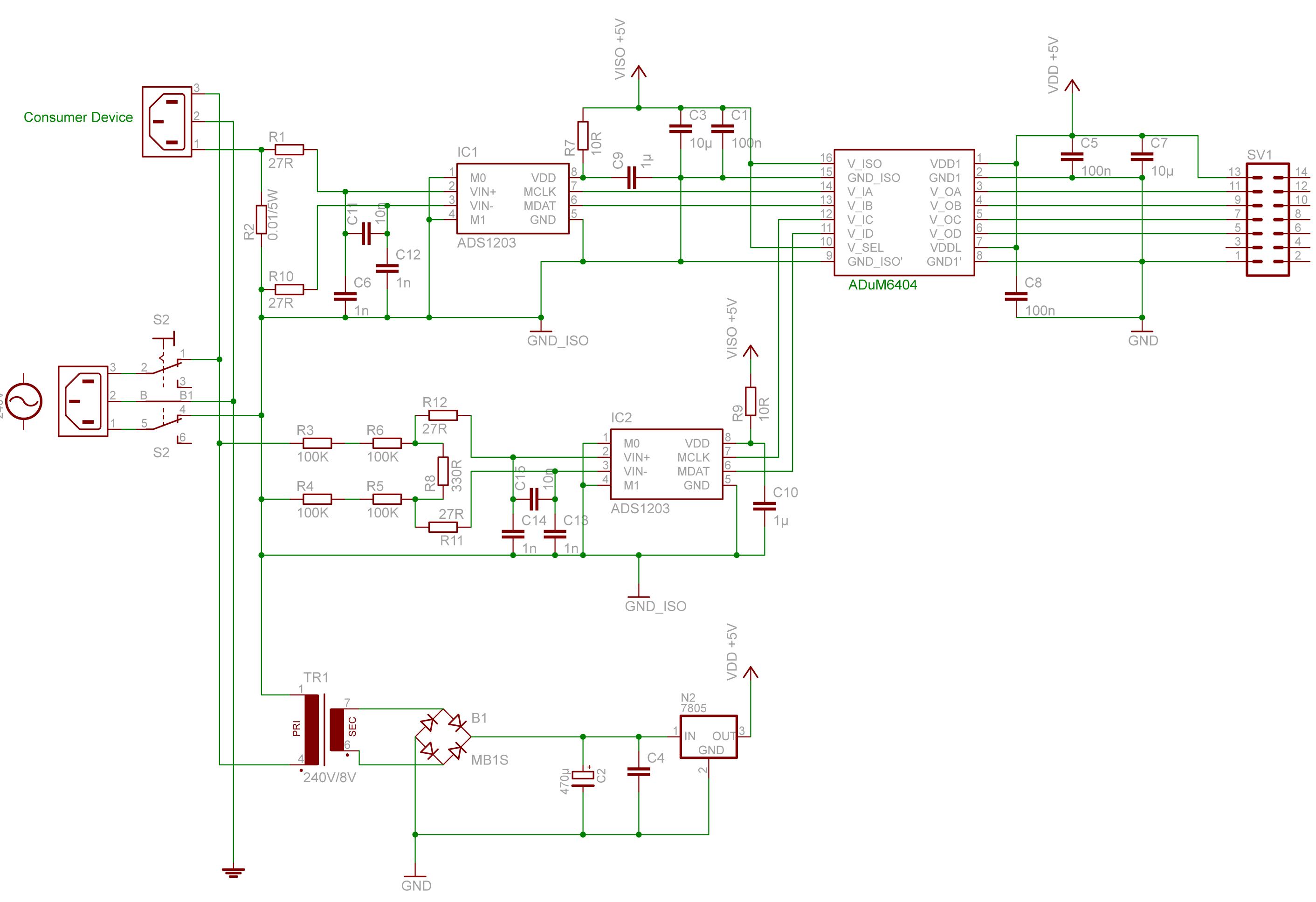 Strommessung 220V 16A - Mikrocontroller.net