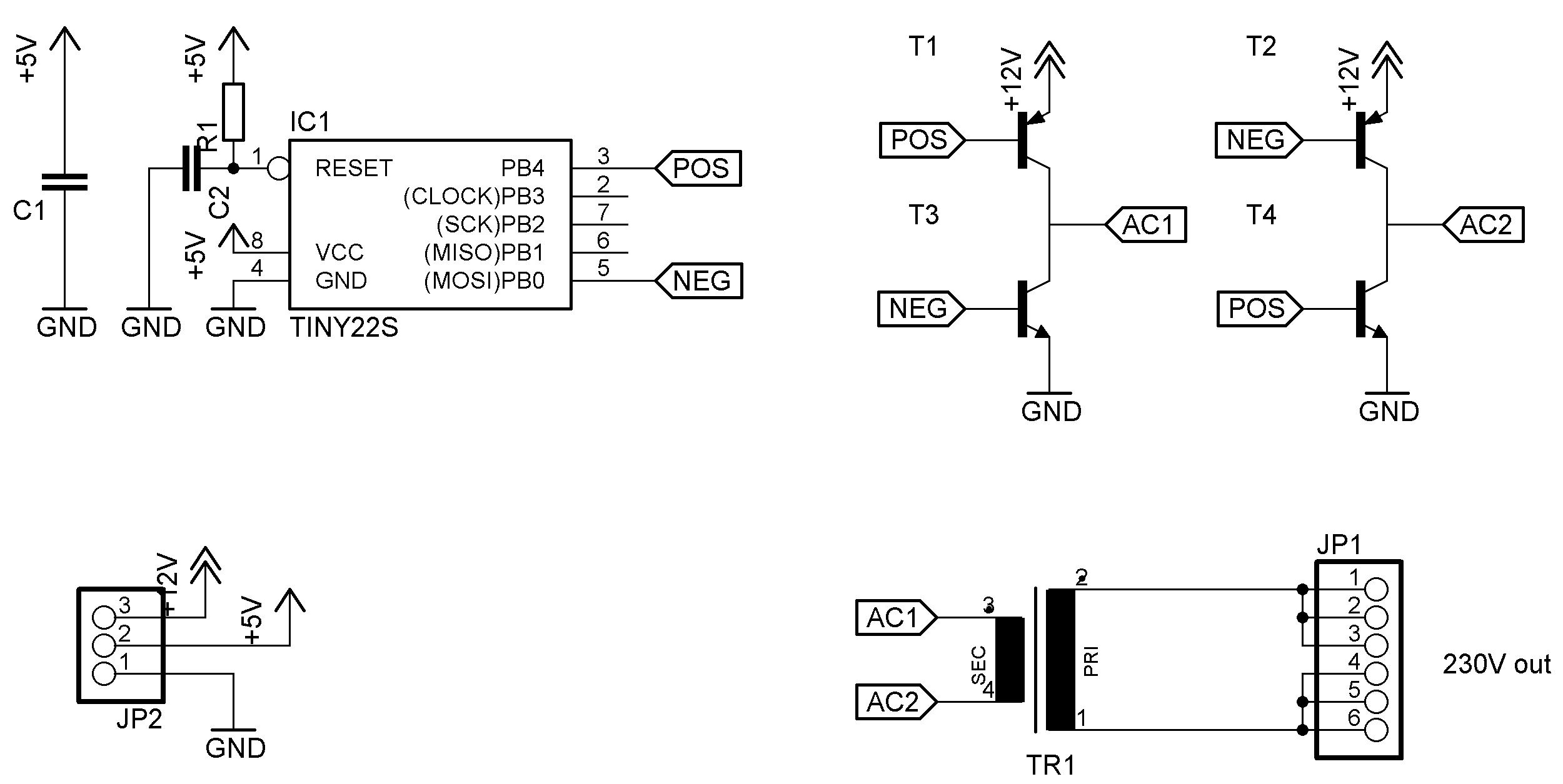 Warum funktioniert mein Wechselrichter nicht? - Mikrocontroller.net