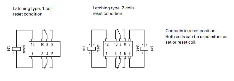 bistabiles relais umschalten eingang ist am tps61200 von. Black Bedroom Furniture Sets. Home Design Ideas