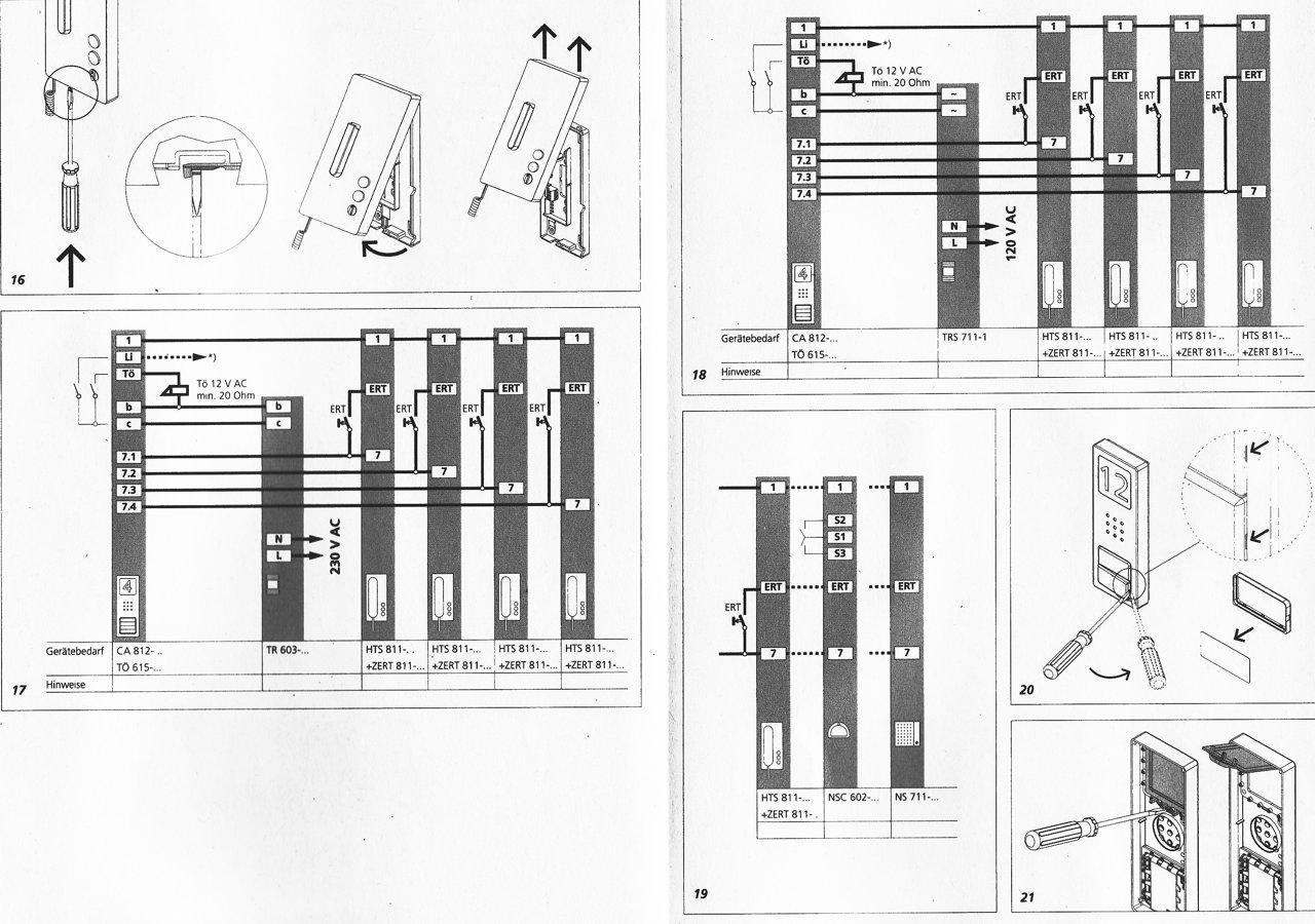 siedle ca 812 h rstation hts 811 etagenruf zert 811. Black Bedroom Furniture Sets. Home Design Ideas