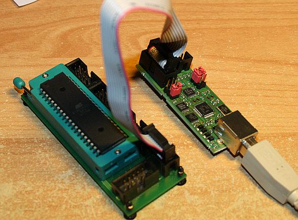 USB ISP-Programmer fr ATMEL AVR