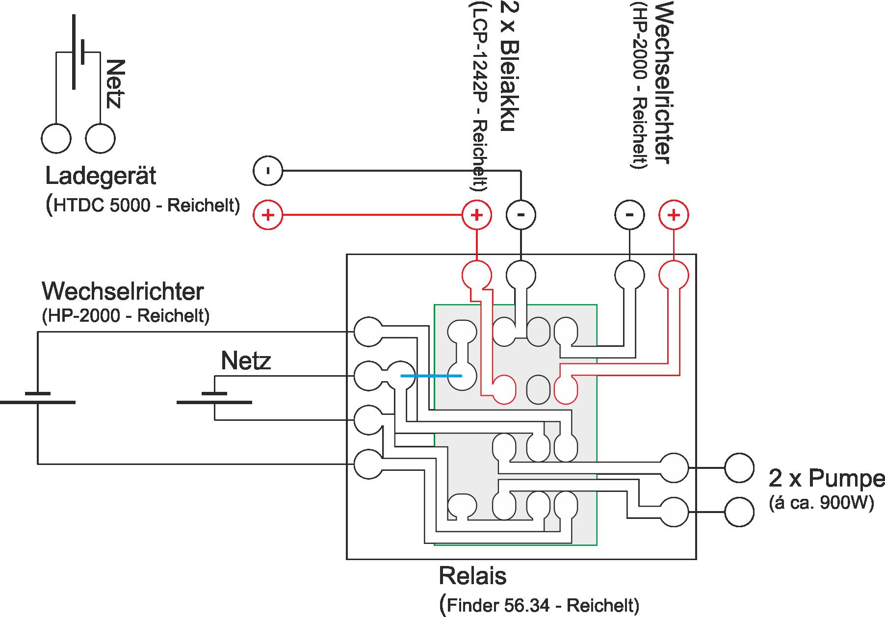Groß Licht Relais Diagramm Fotos - Schaltplan Serie Circuit ...