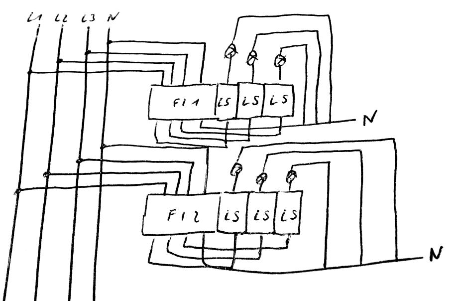 Verdrahtung im Verteiler FI/LS? - Mikrocontroller.net