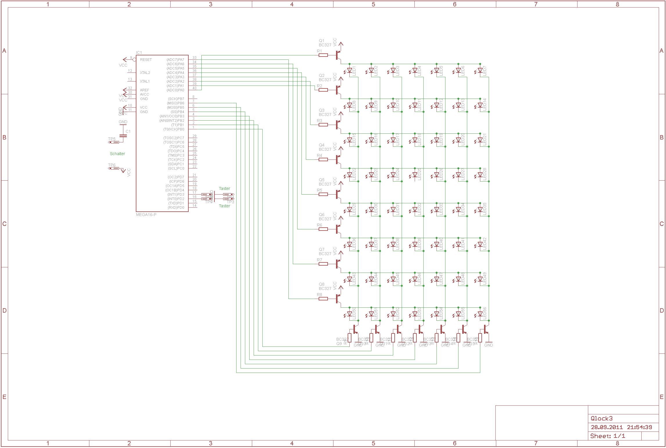 Schaltplan LED-Matrix - Mikrocontroller.net