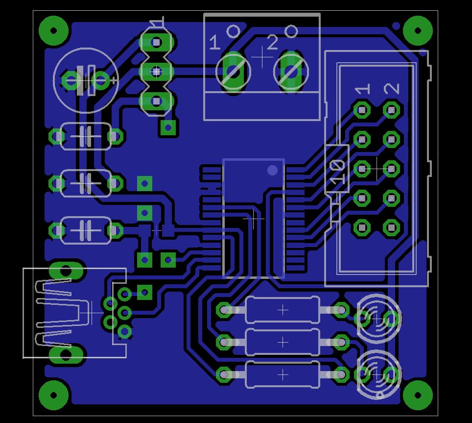 Erste Eagle Platine zur Bewertung - Mikrocontroller.net