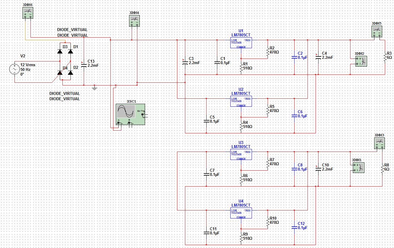 Linear Spannungsregler Netzteil - Mikrocontroller.net