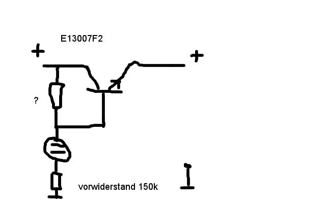spannungsstabilisierung mit glimmlampe und transistor