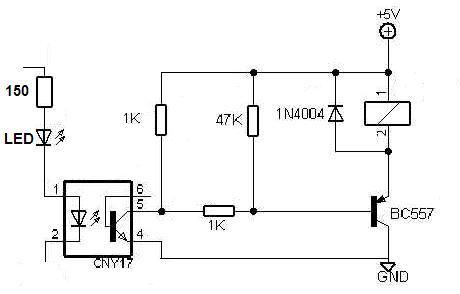optokoppler relais schaltung f r 24v gesucht