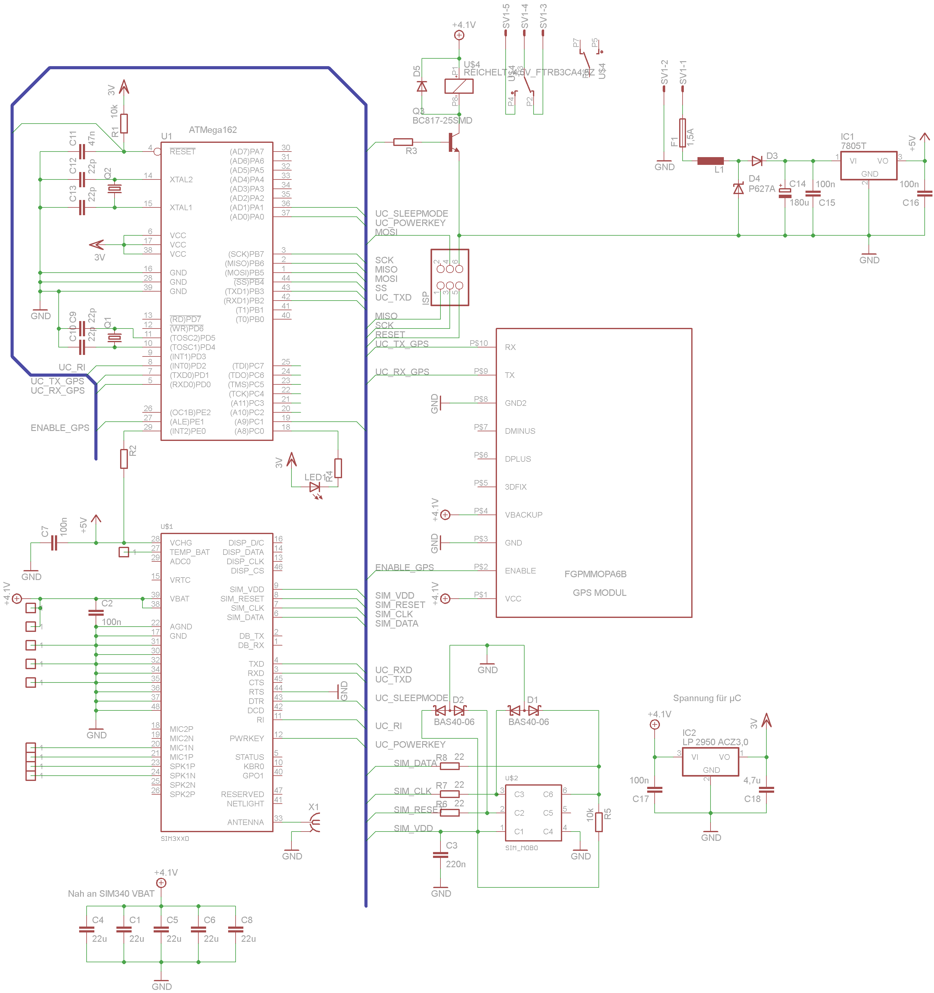 Sammelbestellung GSM-GPS Platine. - Mikrocontroller.net