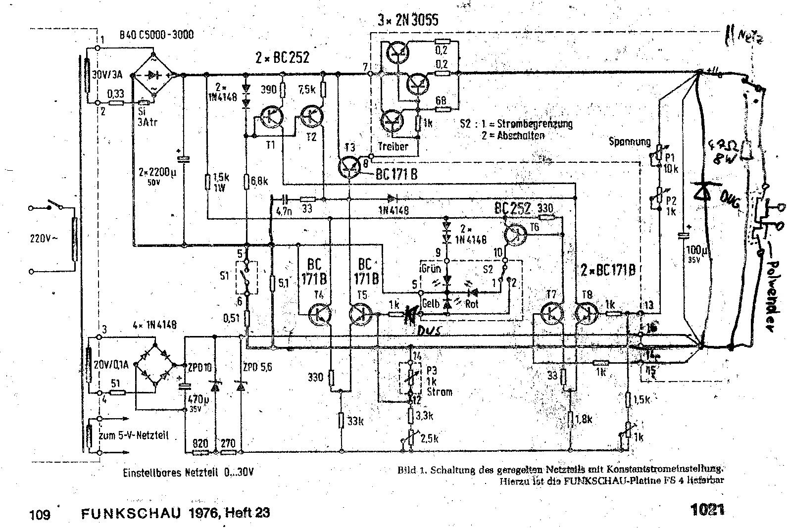 Suche Schaltplan Labornetzteil Conrad NG-302 - Mikrocontroller.net