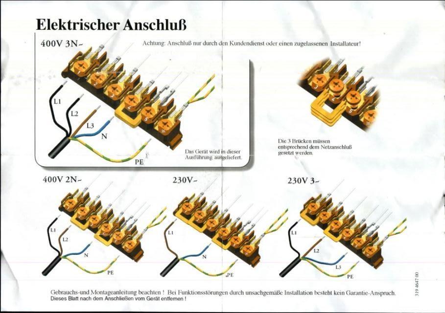 E Herd Einphasig Anschliessen Mikrocontroller Net