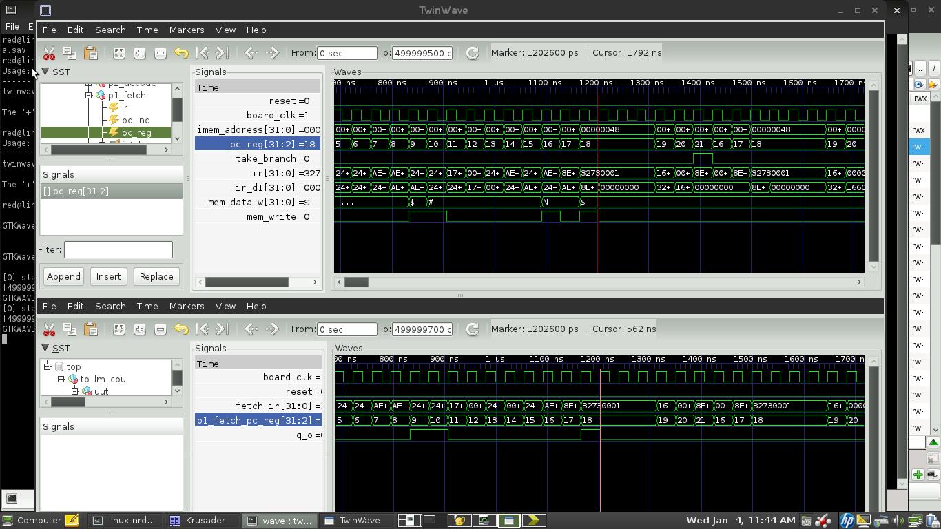 GHDL Problem - Mikrocontroller net