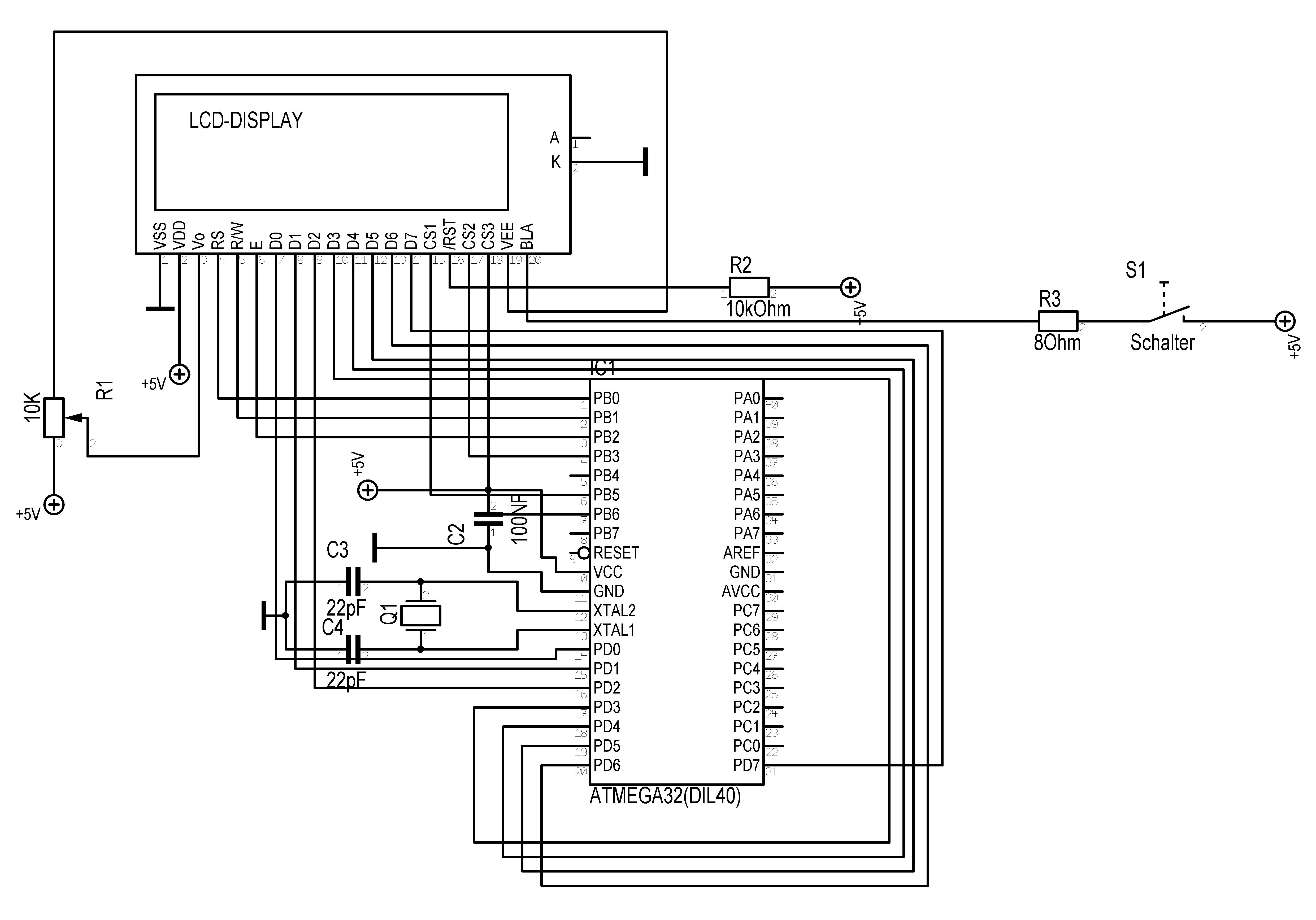 lcd dm19264a  ks0108b controller