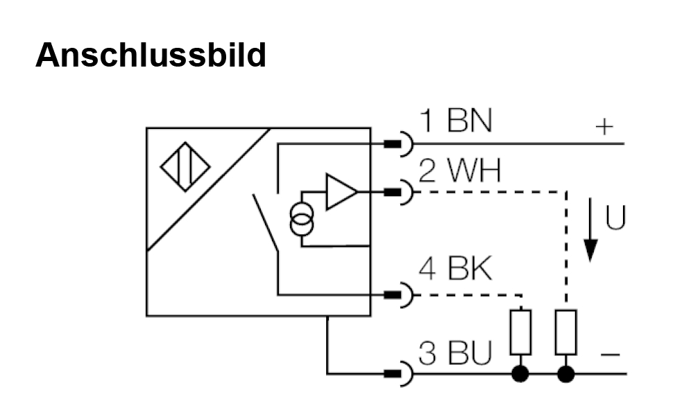 Anschlussbild DC-Sensor? Belegung M12 Stecker? - Mikrocontroller.net