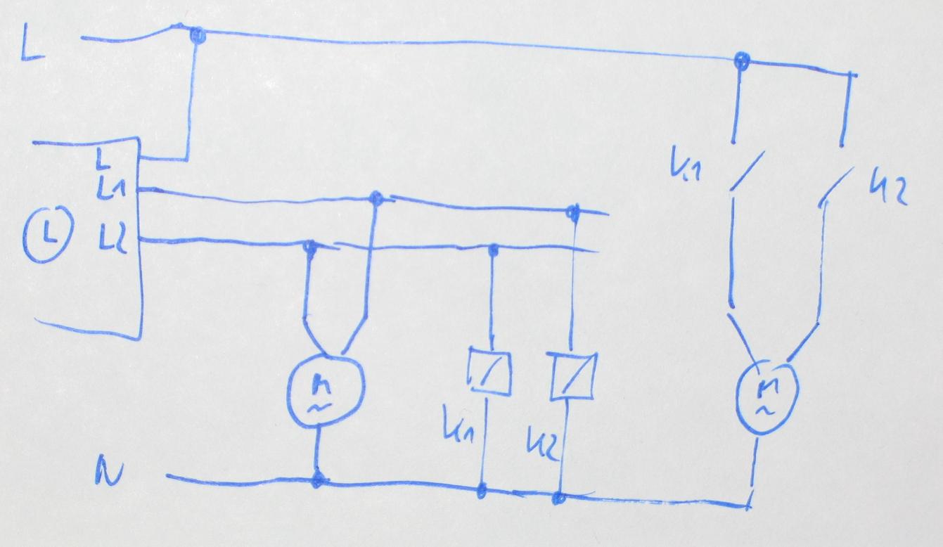 Trennrelais für Jalousiemotore - Mikrocontroller.net