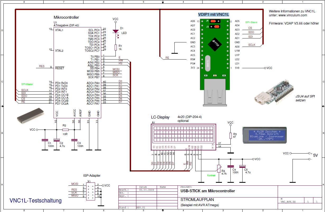 SPI Schaltplan !Hilfe! - Mikrocontroller.net