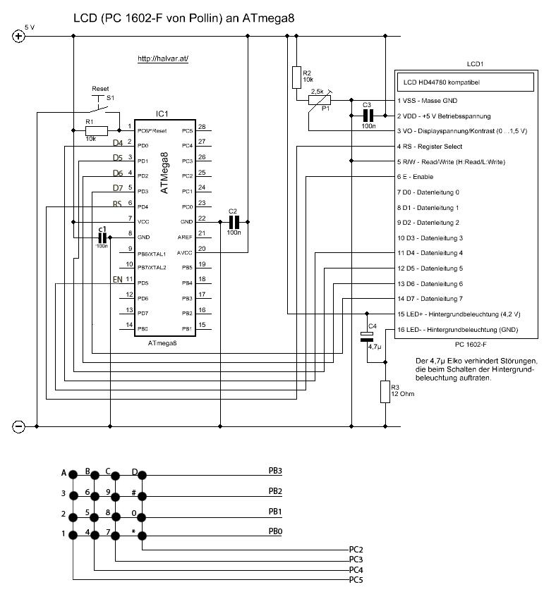 атмега 8 - Практическая схемотехника.