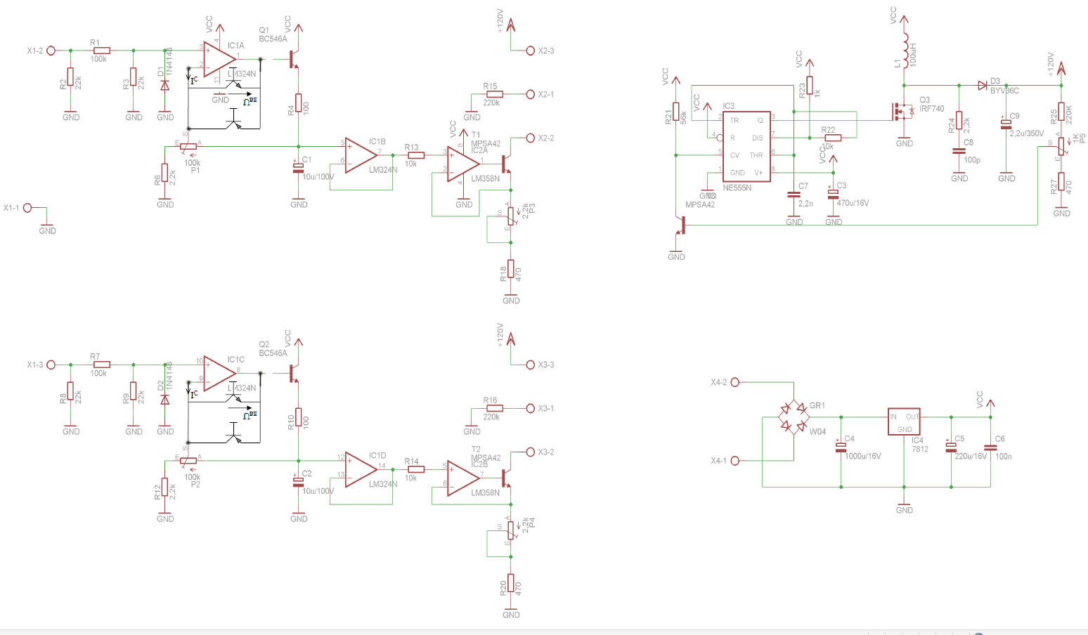 Vu Meter Schaltung Lm3915 Circuit Filter I Preview Image For In 13 Peakmeter