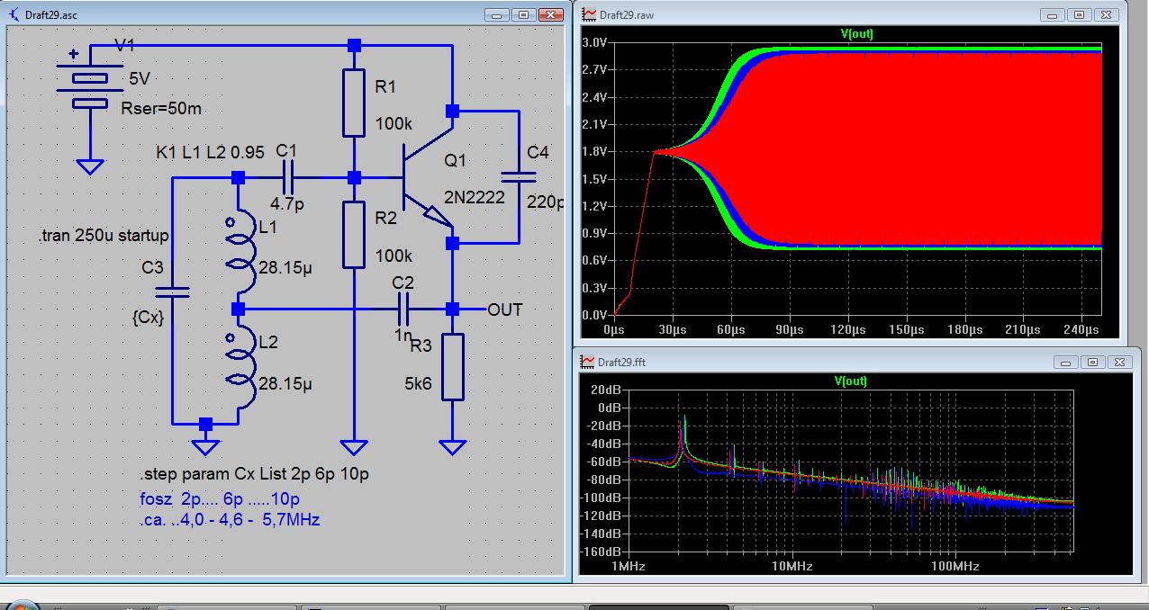 Oszillator Schwingt Nicht Wahrscheinlich Sinnvolle Messung Falstads Java Based Circuit Simulator Http Wwwfalstadcom Preview Image For