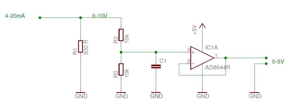 0  4 - 20 Ma Umwandeln In 0  0 4 -5 V
