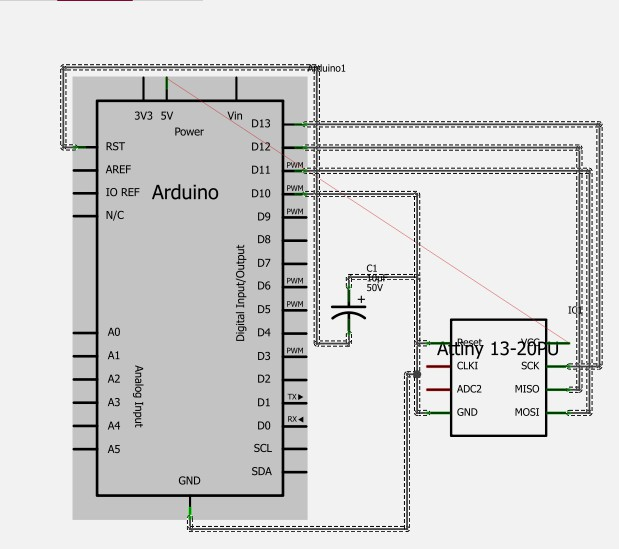 attiny 13 mit arduino uno programmieren. Black Bedroom Furniture Sets. Home Design Ideas