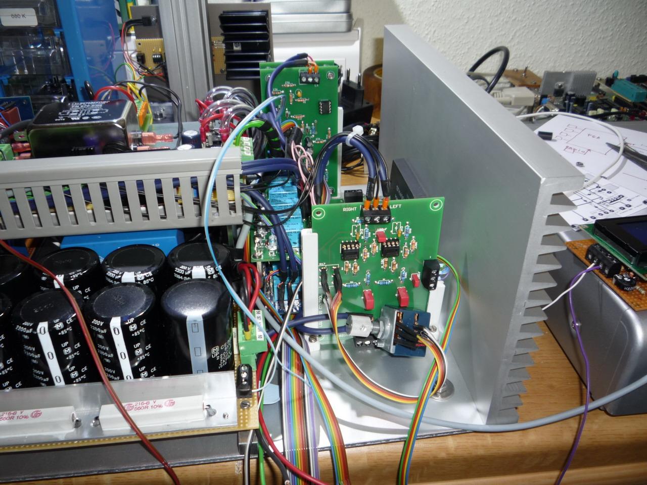 Projekt Mein Wohnzimmerverstrker Stk4050 Audio Amplifier With 200w Output Amp6