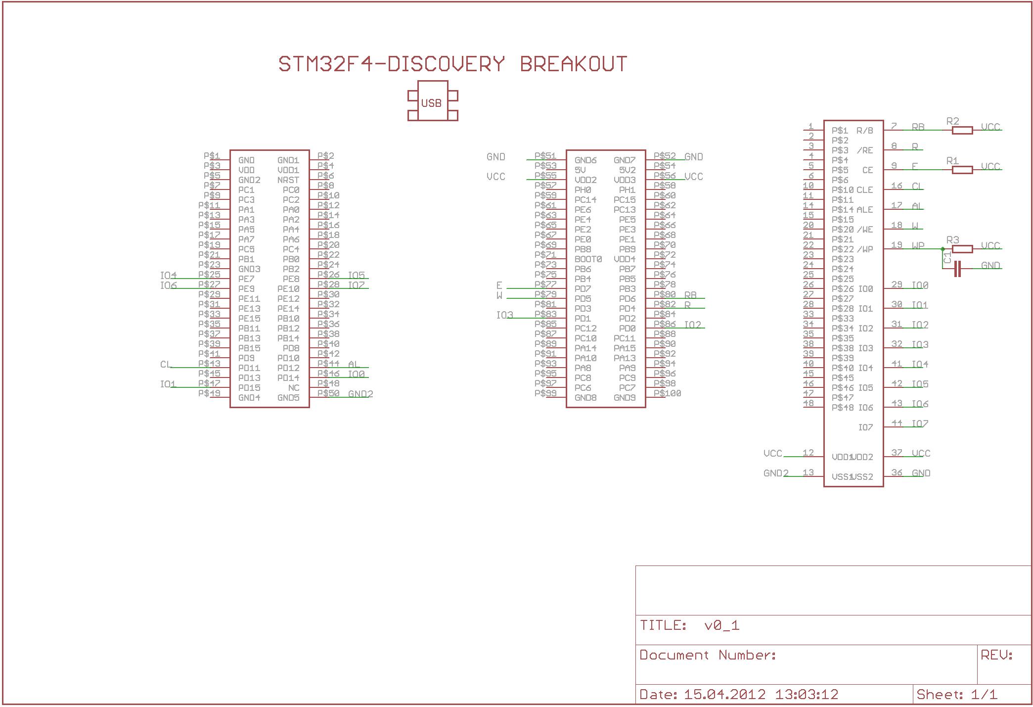 Selbstbau-Testboard für STM32F4Discovery - Mikrocontroller.net