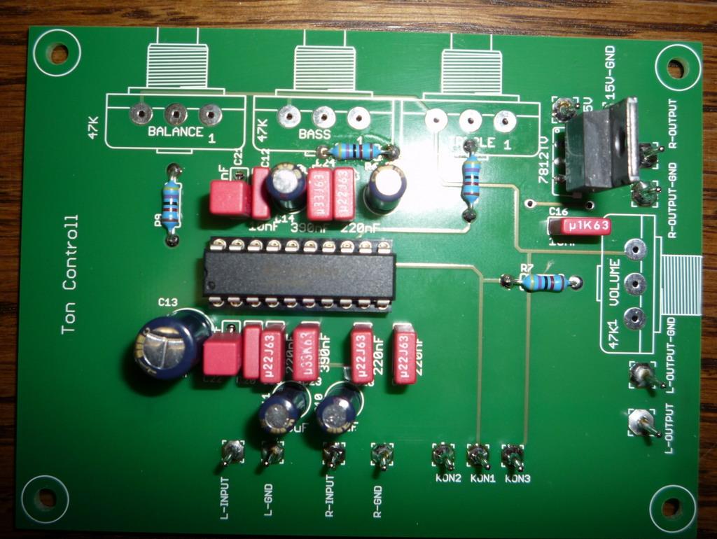 Projekt Mein Wohnzimmerverstrker Stk4050 Audio Amplifier With 200w Output Eq2