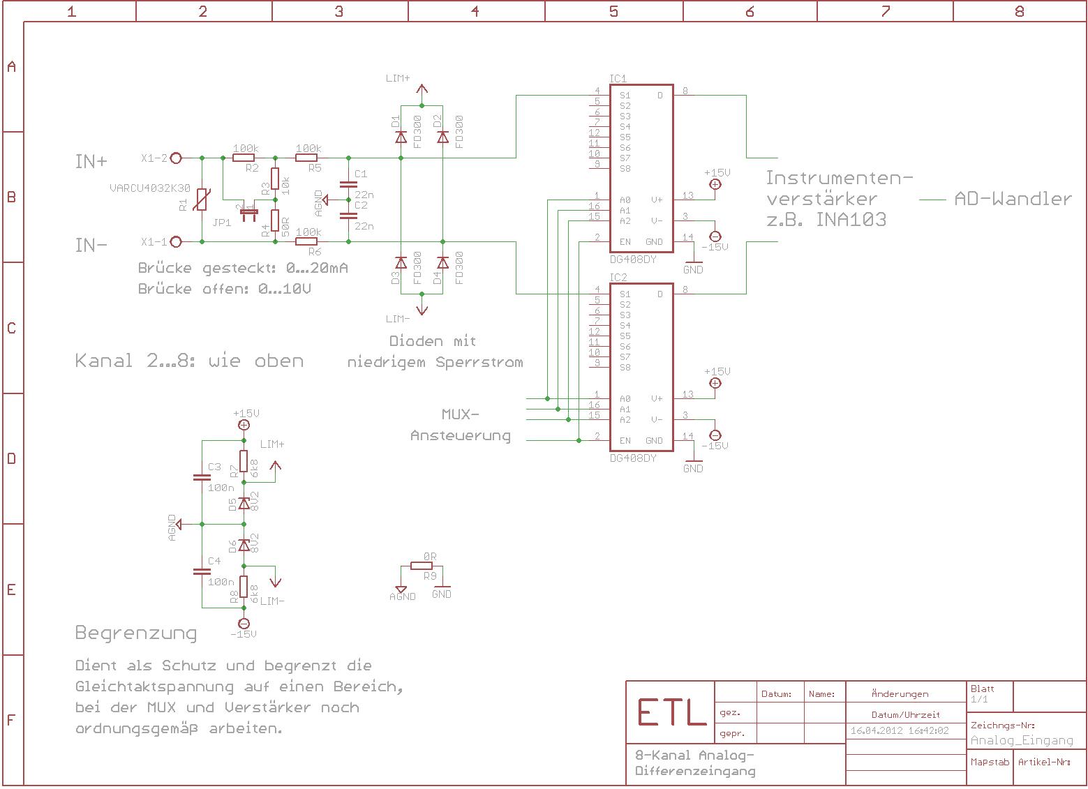 Gemütlich 4 20 Ma Schaltplan Fotos - Elektrische Schaltplan-Ideen ...