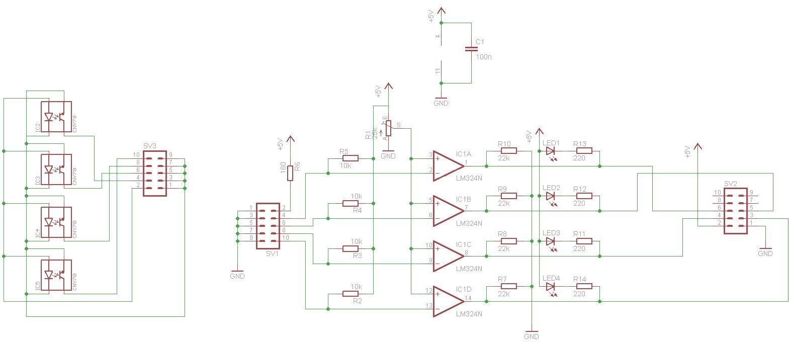 Lm324 Cny70 Unempfindlich Lm324n Circuit Preview Image For Schaltplan