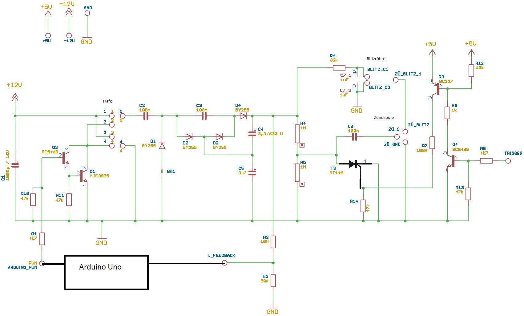Schaltung funktioniert einfach nicht richtig :( - Mikrocontroller.net
