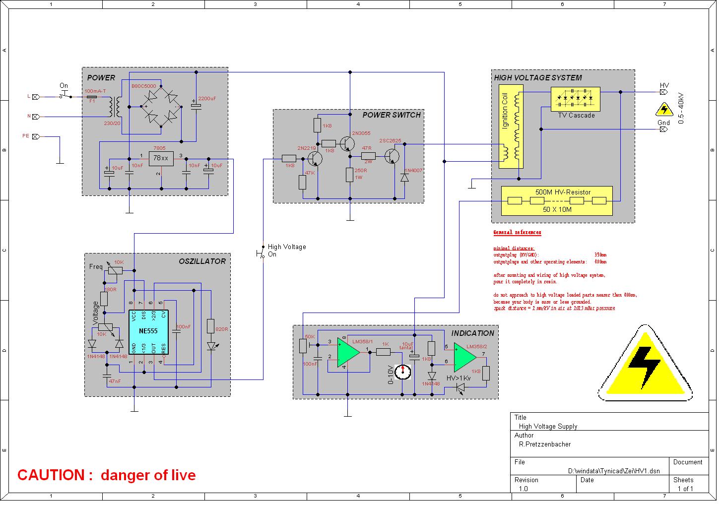 Schaltplan schön zeichnen (mit Maschen, Strompfeilen ...