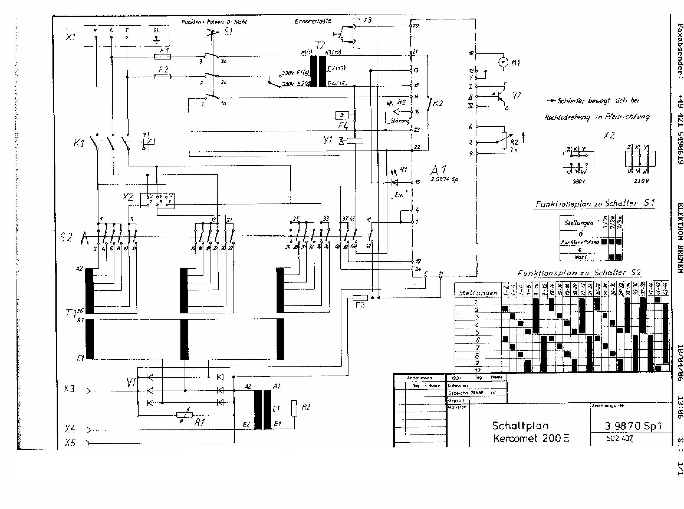 Charmant 220 Volt Schaltplan Ideen - Elektrische Schaltplan-Ideen ...