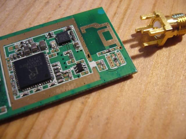 WLAN-Stick Antenne anlöten - Mikrocontroller.net