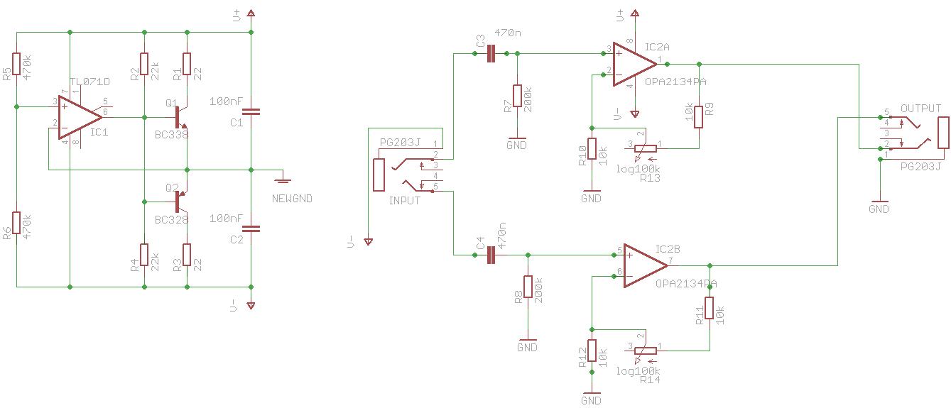 3 Kanal Kopfhörerverstärker mit OPA2134 verzerrt - Mikrocontroller.net