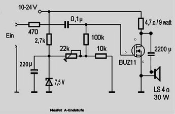 Mosfet Verstärker - Mikrocontroller.net