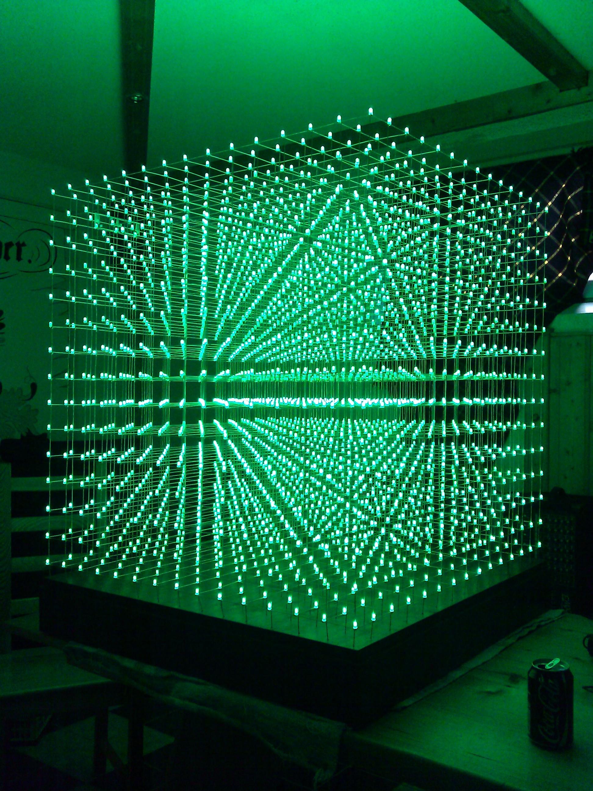 tutorial 10x10x10 led-cube